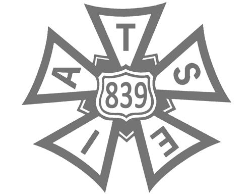 839 IATSE Bug Logo