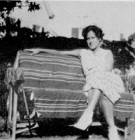 Sadie Bodin in 1935