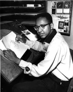 Floyd Norman, at an earlier stint at Walt Disney Animation.
